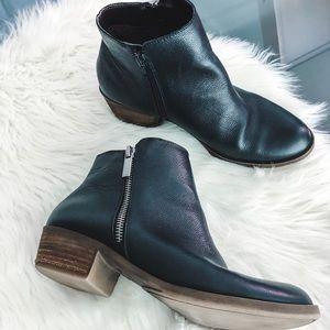 Kensie Black Ankle Booties 7.5